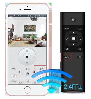 Робот пылесос с wifi «Умник - Рубиновый»
